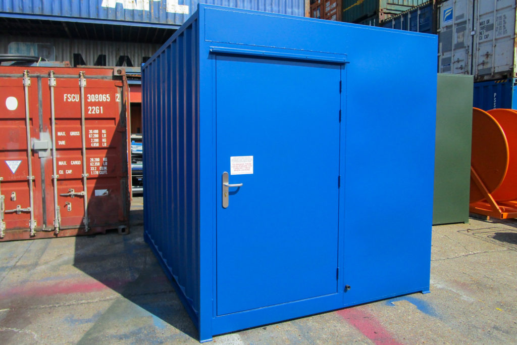 Blue 10ft Container