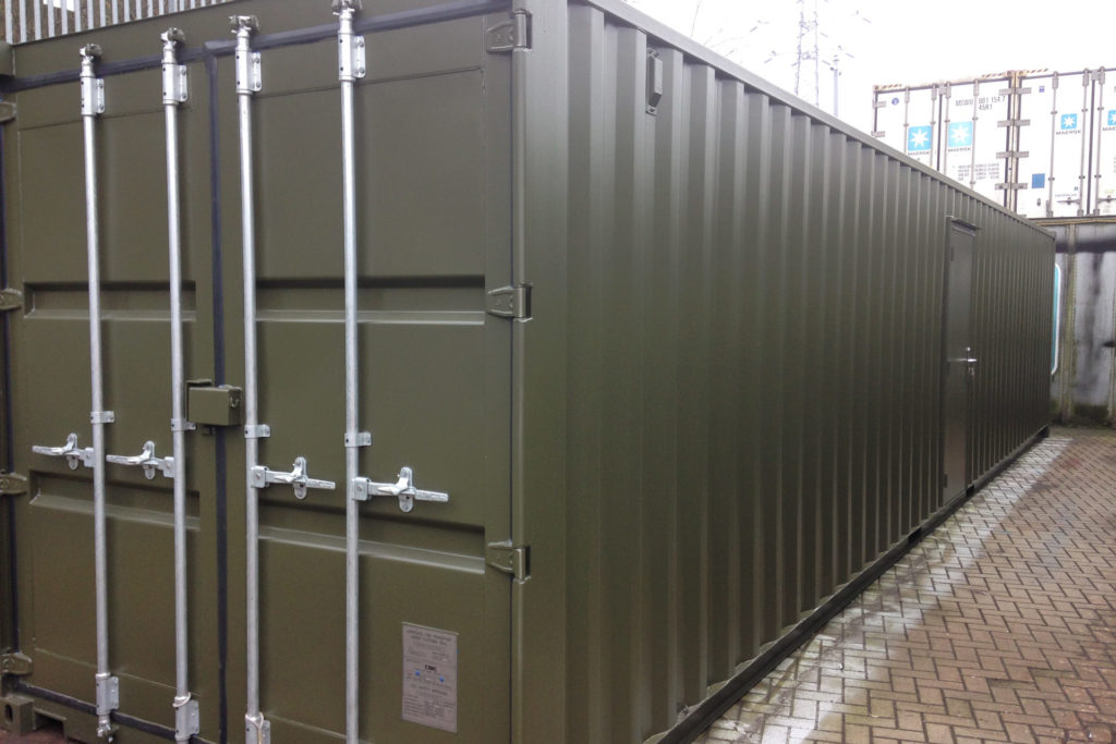 40ft Green Office Container