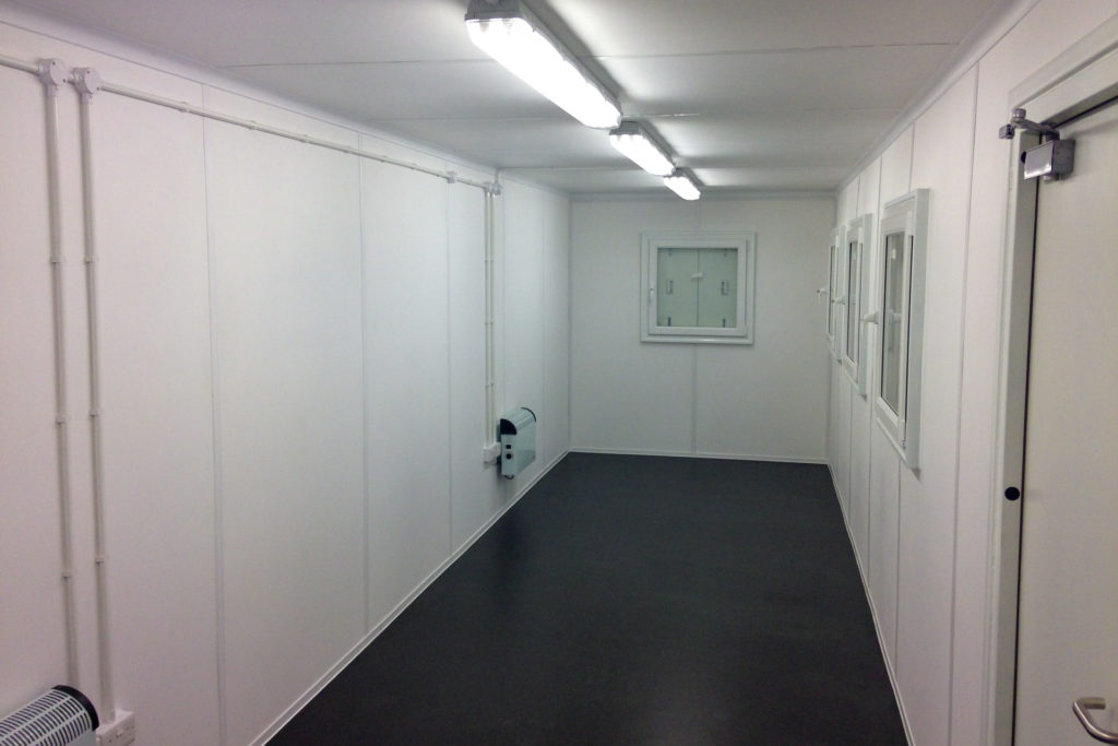 40ft office container inside