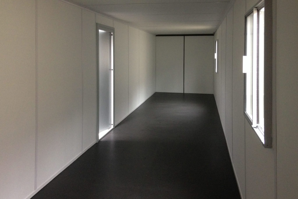 Inside view of 40ft office