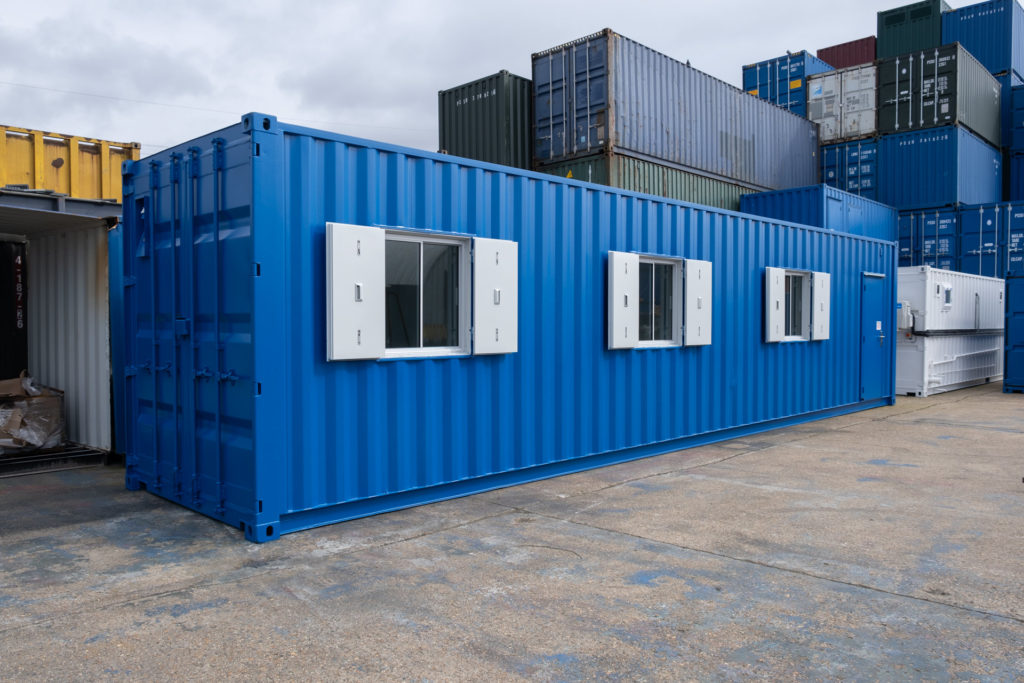 Blue 40ft Office Container
