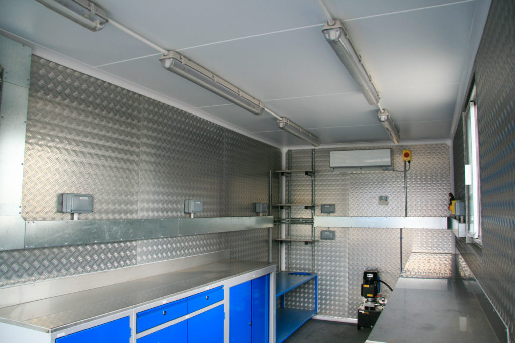 20ft Science Laboratory Container