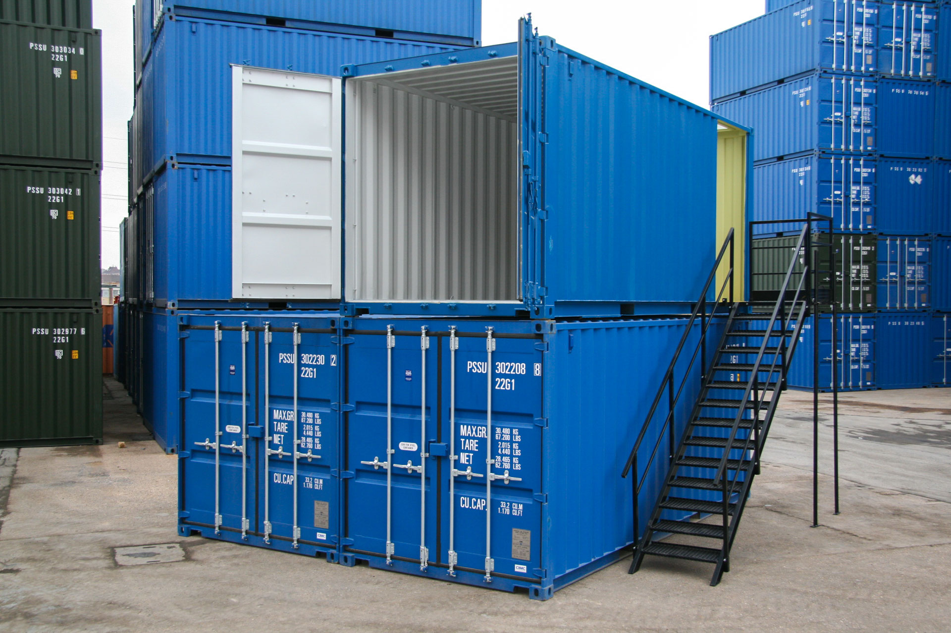 Shipping Containers for Self-storage sites
