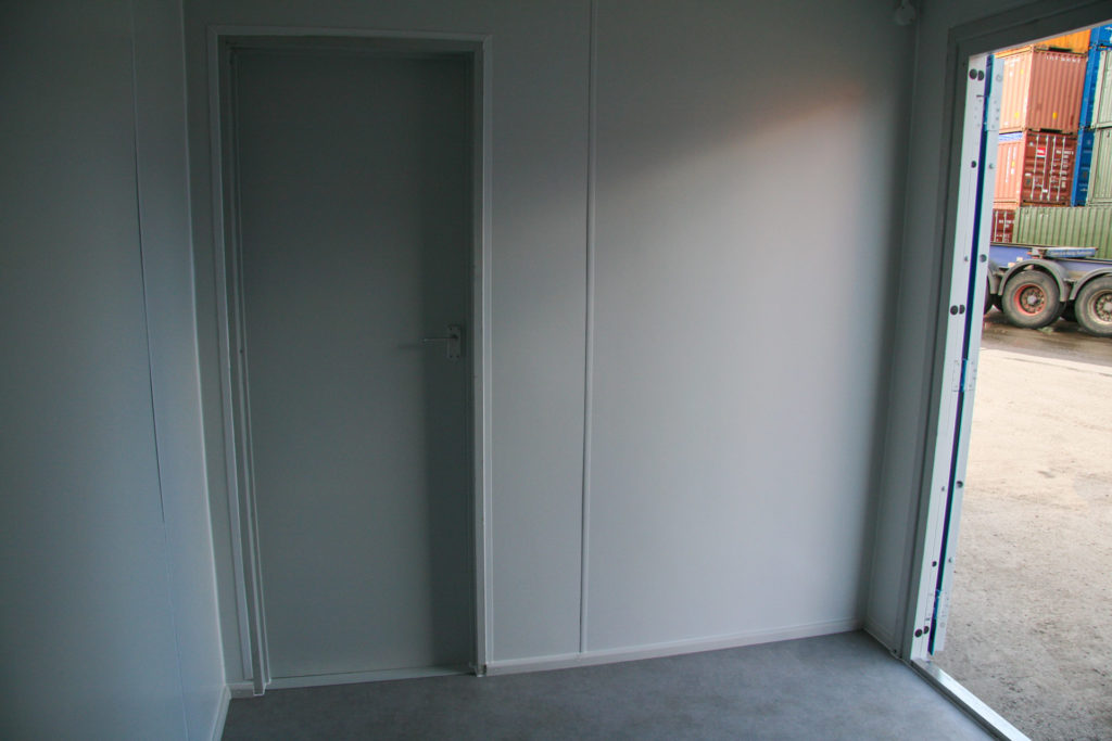 20ft split office partition wall