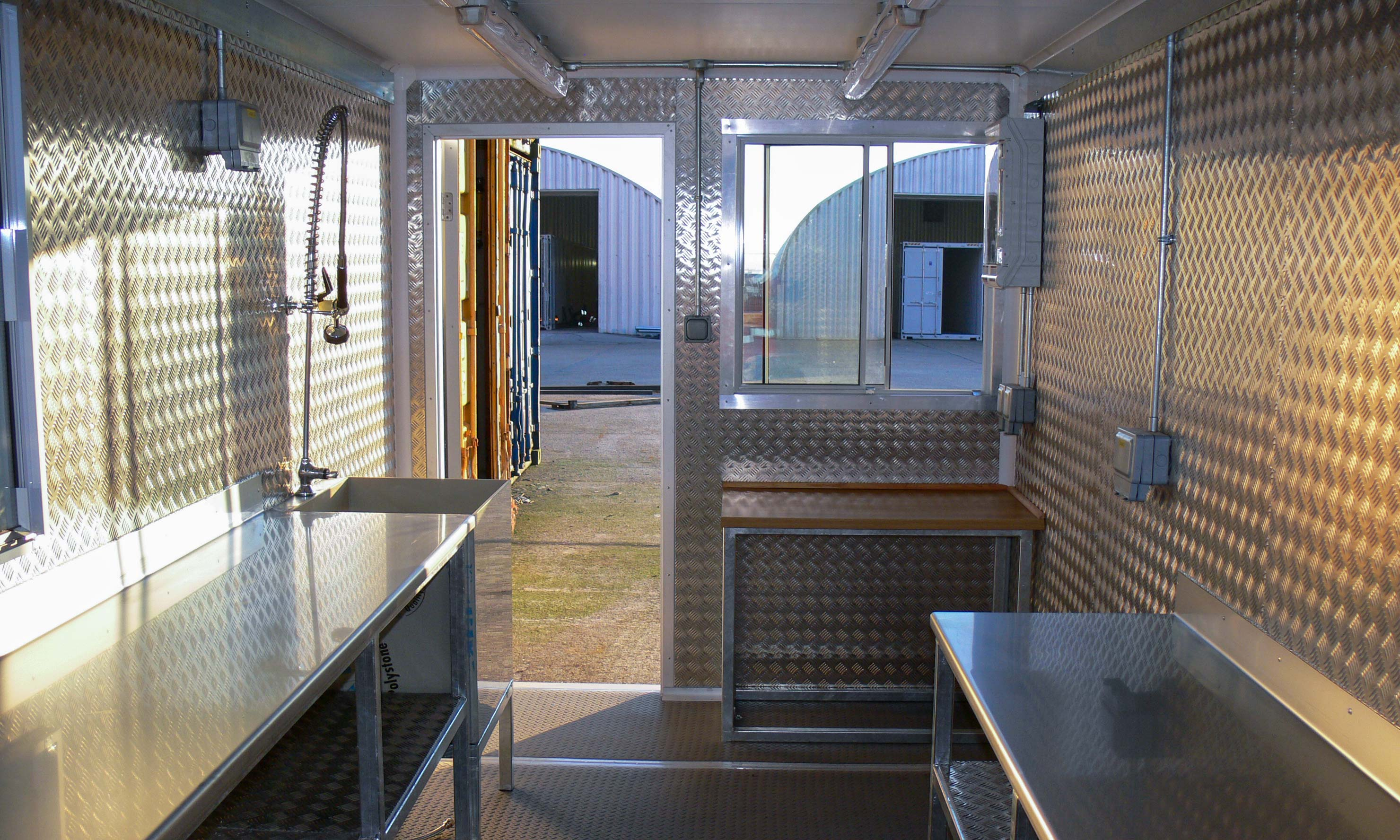 Science Laboratory Container Conversion