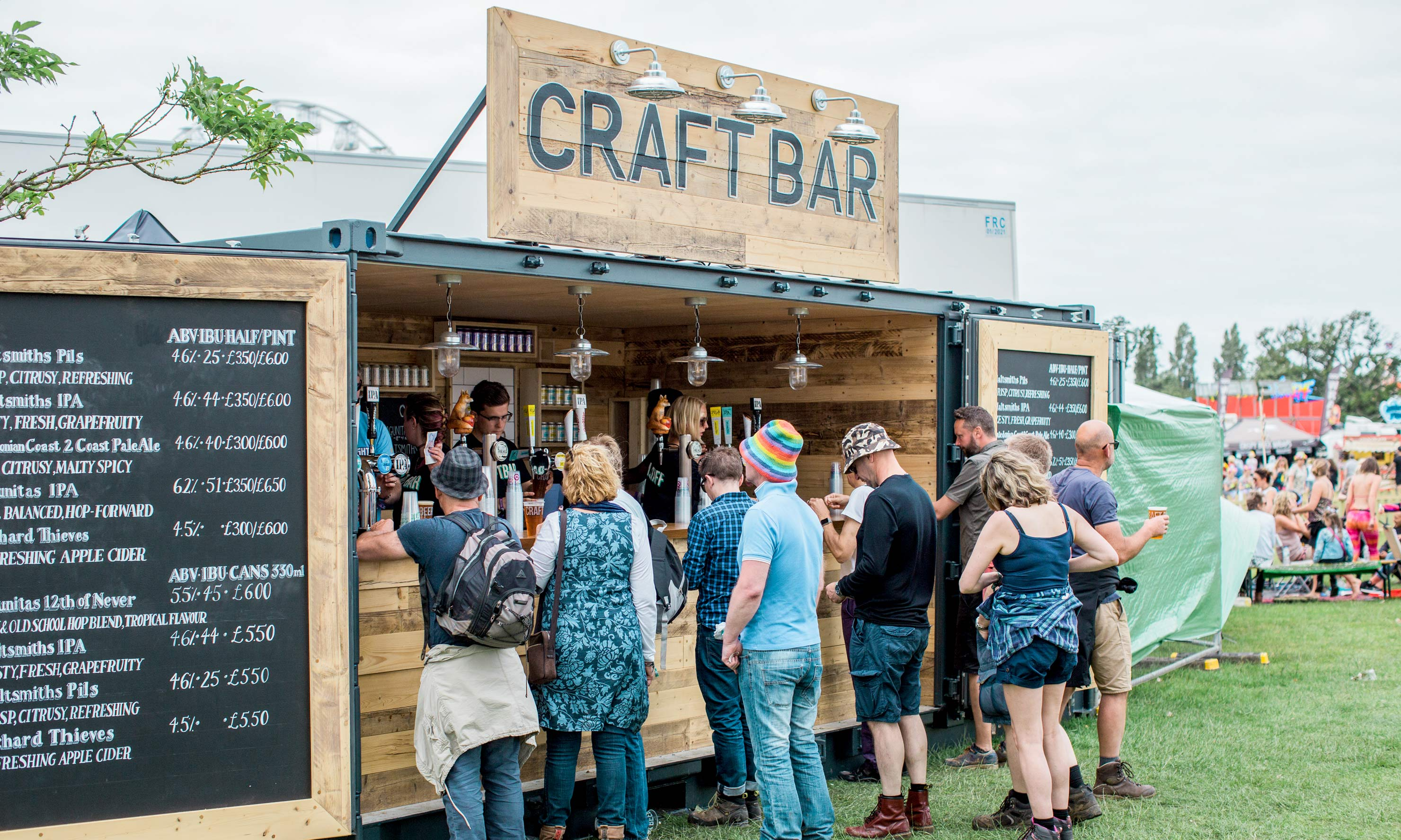 Converted Shipping Container for Bar or Cafe Conversion