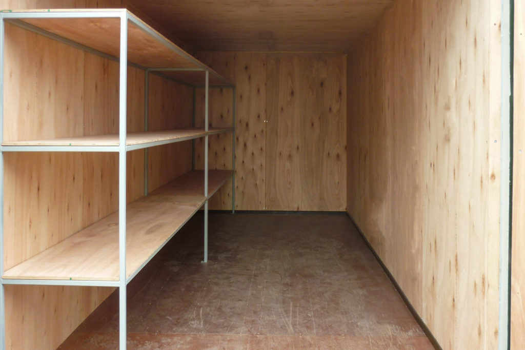 20ft Shipping Container Ply Lined