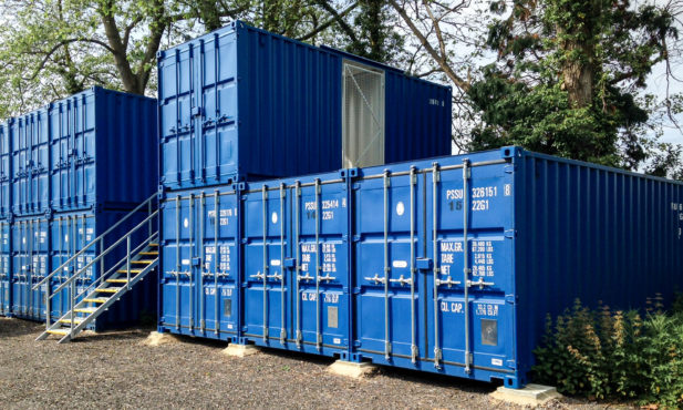 Shipping Container Storage Solutions in the UK | Pentalver