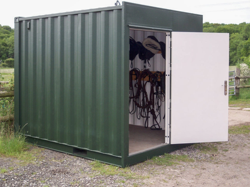 Green 10ft fabricated container