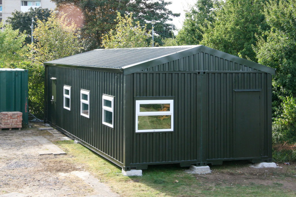 Converted Shipping Container into School Classrooms