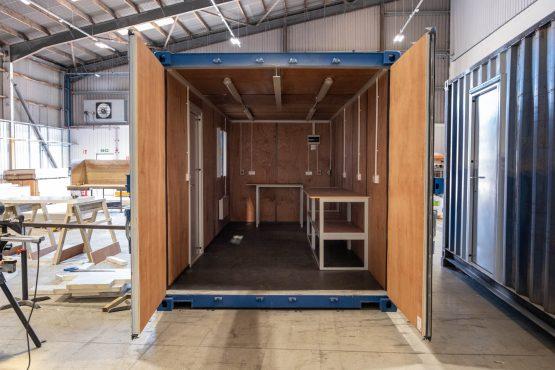 20ft Ply Lined Workshop