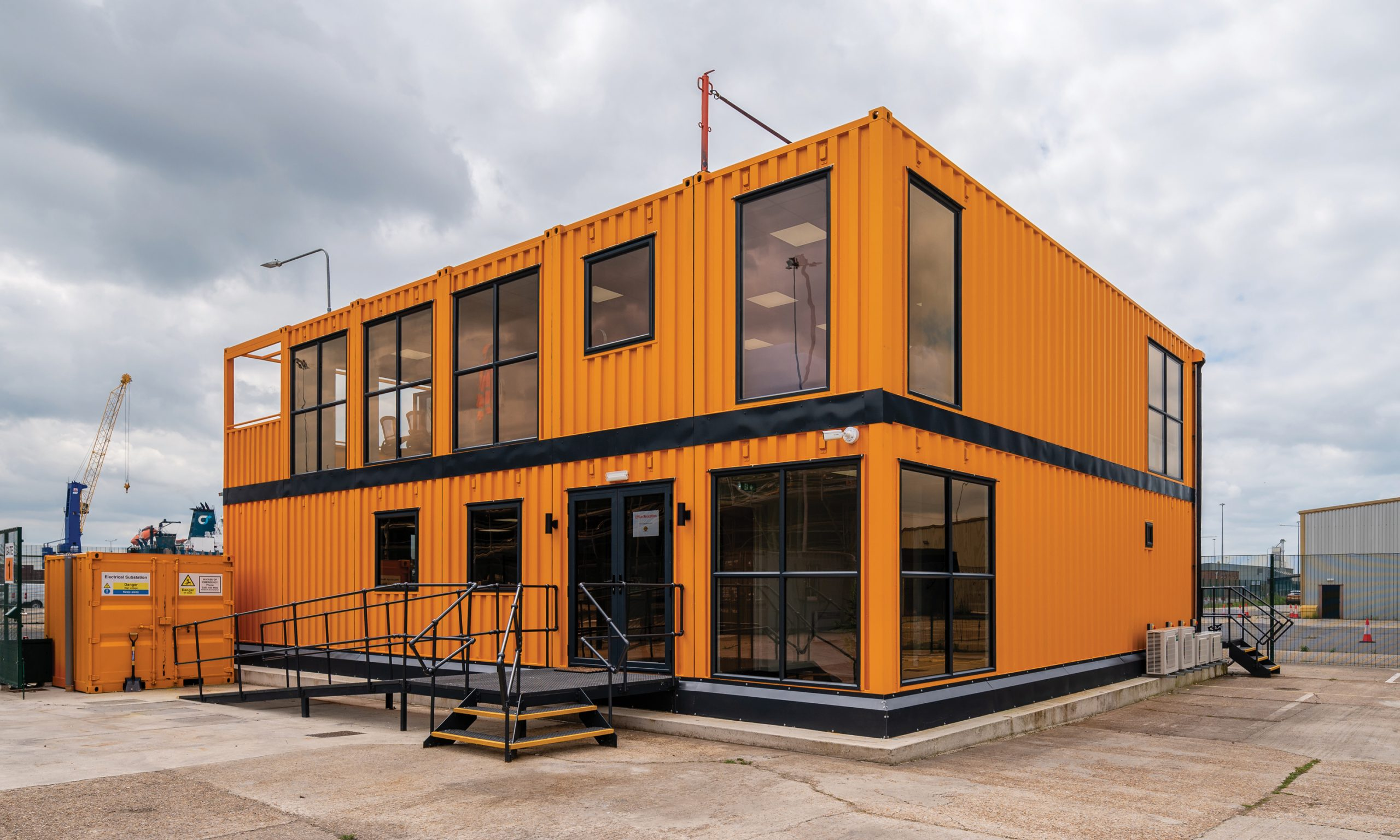 Our New Shipping Container Offices and Workshop